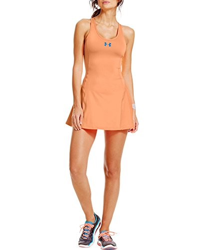 Under Armour Women's UA Tennis Racer Pleat Dress Extra Small Afterglow