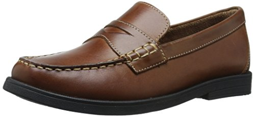 Florsheim Kids Boys' Croquet Penny, Saddle Tan, 2 Medium Little Kid ()