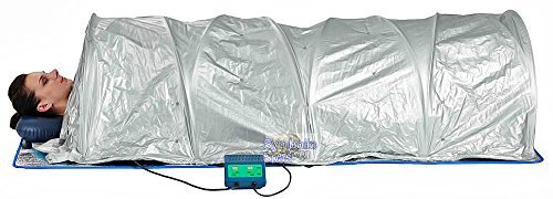 XL Sauna Portable Dome Tent FIR Infrared 360 Degree Surround Healing Heat Ceramic, (Sauna Dome)