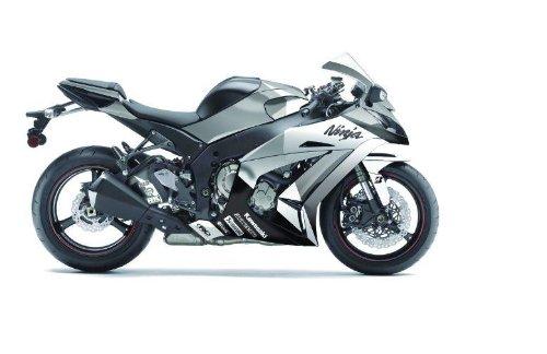 (Factory Effex 15-15112-BW EV-R Series Black/White Complete Street Bike Graphic Kit for Kawasaki Ninja 650)