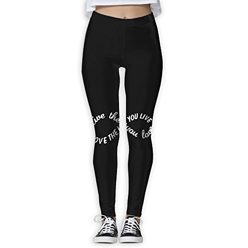 Price comparison product image LKJAS SSD Girls Yoga Pants - Love The Life You Live