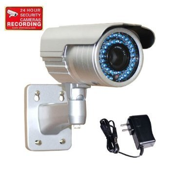 2f90a1f8919 VideoSecu 1 3 quot  PIXIM DPS Bullet Security Camera Outdoor Day Night  Vision WDR OSD