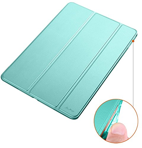 iPad Mini 4 Case[Corner Protection]-Dyasge Ventilated Stand Cover with Soft TPU Bumper for Apple iPad Mini 4(2015 Edition ONLY) Tablet,Mint Green