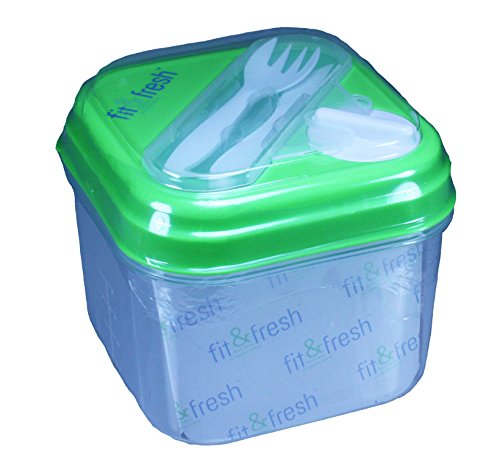 fit-fresh-salad-shaker-lunch-container-with-built-in-dressing-dispenser-and-reusable-ice-pack