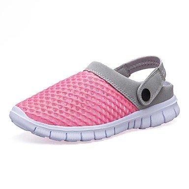 SHOES-XJIH&Zapatillas Unisex Flip-Flops par de zapatos de suela ligera tul verano otoño casual azul ligero rubor rosa fucsia Azul Gris 1A-1 3/4in,Beige,US11 / UE44 / UK10 / CN46
