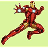 "Iron-Man Mini FATHEAD Marvel Avengers Officially Licensed Vinyl Wall Graphic 13""x11"" INCH"