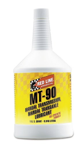 Red Line 50304-6PK Manual Transmission (MT) 90W Gear Oil - 1 Quart, (Pack of 6)