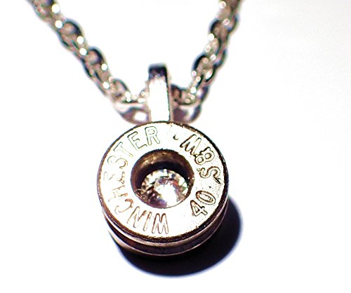 40 cal bullet necklace - 2