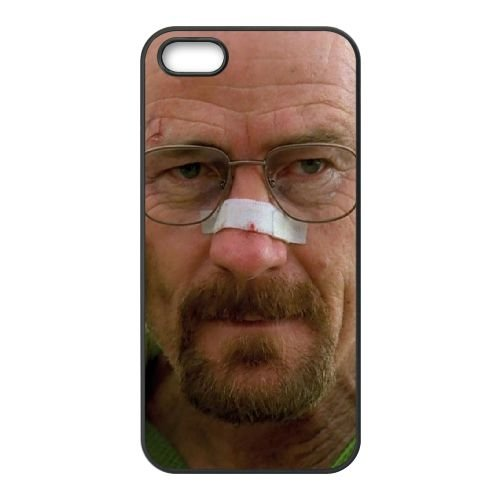 Breaking Bad1 coque iPhone 5 5S cellulaire cas coque de téléphone cas téléphone cellulaire noir couvercle EOKXLLNCD22415