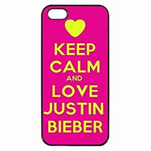 Keep Calm and Love Justin Bieber Fever Unipue Custom Image Case Case For Iphone 6 Plus 5.5 Inch Cover Case For Iphone 6 Plus 5.5 Inch Cover Diy Durable Hard for Case For Iphone 6 Plus 5.5 Inch Cover , High Quality Plastic Case By Argelis-sky, Black Case New