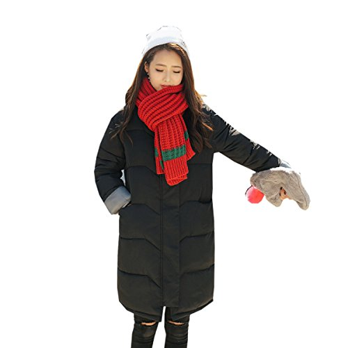 Thickening Loose nihiug Long Size Coat Winter Down Version Outwear Down Jacket Large A Korean Eiderdown Section Cotton Z7qZTH