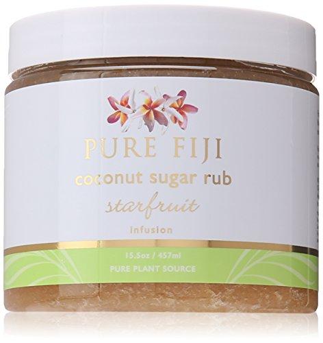 - Pure Fiji Coconut Sugar Rub Starfruit, 15.5 Ounce