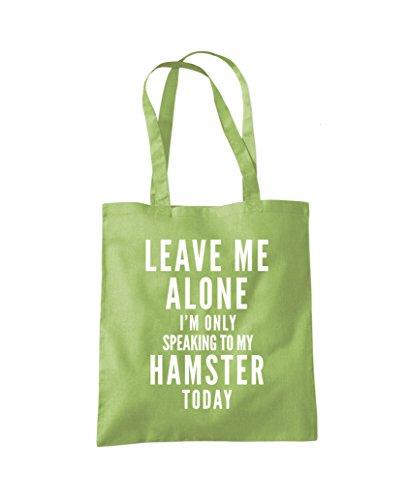 Hamster My Talking Kiwi Green To Alone Only Bag Fashion Me Leave Tote Shopper I'm CYqwxRI0p