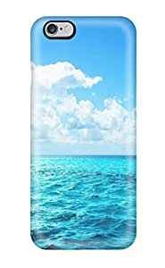 New Ocean Blue Tpu Case Cover, Anti-scratch BenjaminHrez Phone Case For Iphone 6 Plus