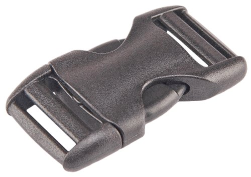 (YKK 10-1 Inch Flat Heavy Duty Dual Adjustable Side Release Plastic Buckles)