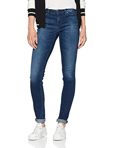 911 Nora Jeans Rise Dark Blue Mid Mujer l32 W26 Azul Tommy Vaqueros Skinny chicago Stretch 1Rn77