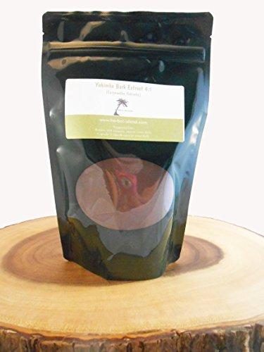 Extrait d'écorce de Yohimbe en poudre 4:1 4 OZ (Corynanthe Yohimbe) avec la livraison gratuite