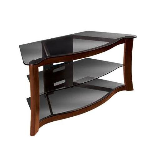 Bell'O PVS3103 AV Stand Holds Up To 52-inches or 125lbs TV Dark Cherry