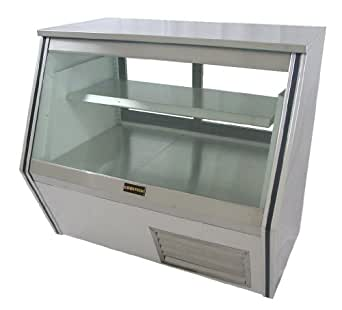 """Cooltech Refrigeration 48-inch 1 Shelf Refrigerated Deli Display Case 48"""" CMPH-48CD"""