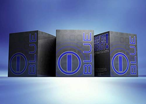Blue Blend (Bhip I -Blue Natural Energy Drink - 100% Natural - No Crash - Energy That Last for Hours - 30 Packets/box - Vitamins & Amino Acid Supplement.usa Seller)