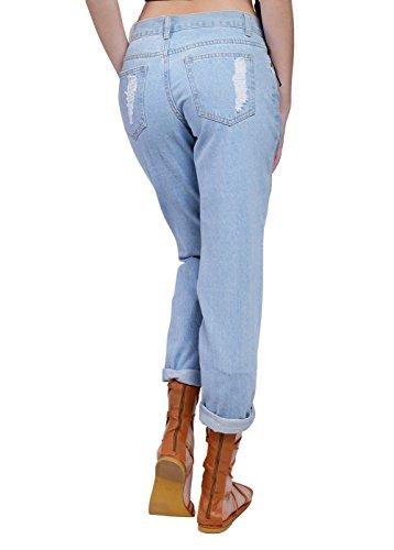 OSLIM - Vaqueros - para mujer Azul