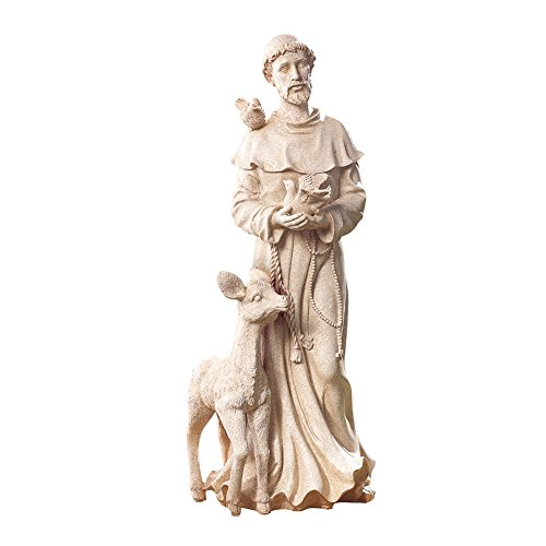 Collections Etc Beautiful Antique Finish St. Francis Garden Statue ()