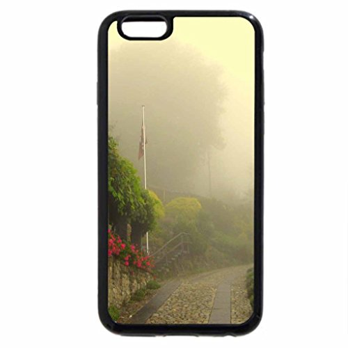 iPhone 6S / iPhone 6 Case (Black) Foggy Town