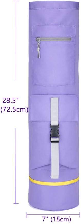 Respirant Multifonction s/échage Rapide voidbiov Sacs de Tapis de Yoga avec Poches de Rangement r/ésistant /à labrasion /épais de Haute capacit/é
