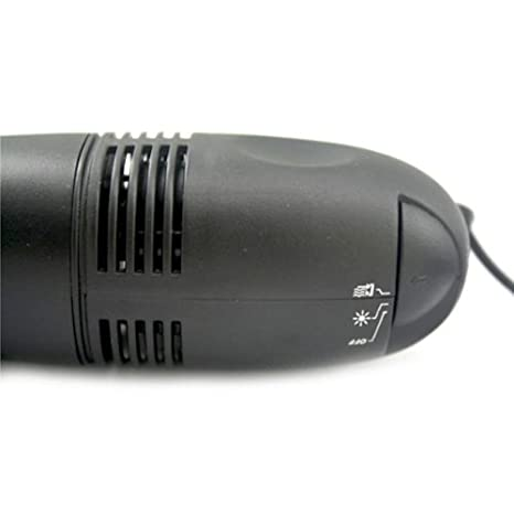 USB Mini Aspiradora Portátil PC Ordenador Escritorio Teclado Limpiador Negro: Amazon.es: Electrónica