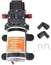 LYSOZ Membrana pompa wodna, morska pompa do mycia 12 V 4 GPM 45 PSI pompa do mycia zlewu, do łodzi morskich przyczep kempingowych jachtów