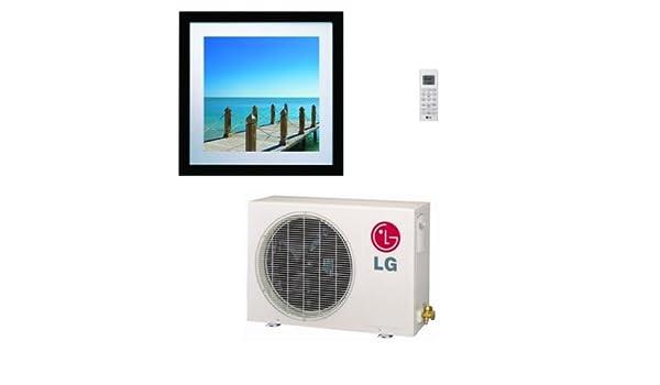 LG la090hvp ductless aire acondicionado, 16 Seer single-zone Art ...