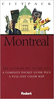 Book Citypack Montreal