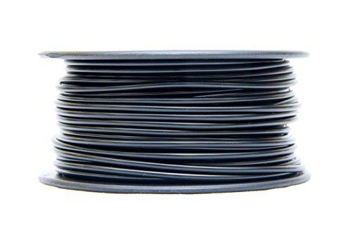 MG Chemicals Black PLA 3D Printer Filament, 1.75mm, 0.5 Kg Spool