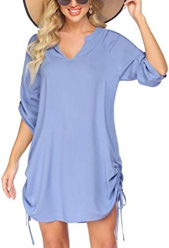 Avidlove Swim Cover Up for Woemen Swimsuit Beach Shirt Bikini Beachwear Bathing Suit Beach Dress