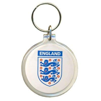 F.A, Inglaterra acrílico llavero con escudo del equipo ...