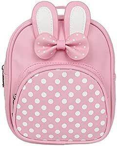 حقيبة ظهر للبنات بتصميم كرتوني حقيبة عالية الجودة بتصميم أرنب لطيف للغاية حقيبة القوس