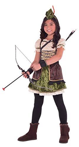 Girls Miss Robin Hood Costume - X-Large (14-16) -