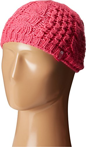 (The North Face Kids Girl's Cable Minna Beanie (Big Kids) Cabaret Pink (Prior Season) MD)
