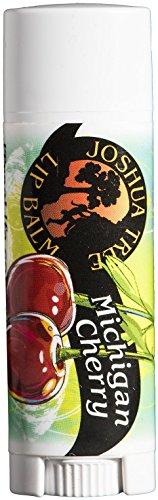 Joshua Tree Michigan Cherry Organic Lip Balm  (Best Cherry Trees For Michigan)