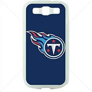 NFL American football Tennessee Titans Fans Samsung Galaxy S3 SIII I9300 TPU Soft Black or White case (White)