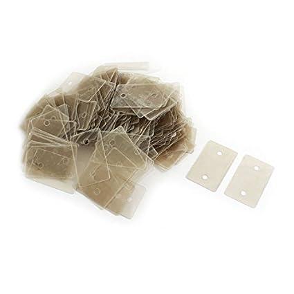 Amazon.com: Reparação de peças de Mica Isolador 300pcs ...