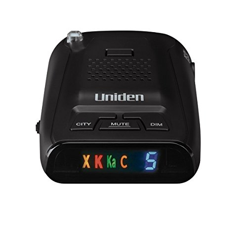 Uniden DFR3 Long Range Laser/Radar Detector with 360 Degree Protection, 3 Modes, Highway/City/City 1 Modes, Easy to Read ICON Display with Numeric Signal Strength Counter by Uniden