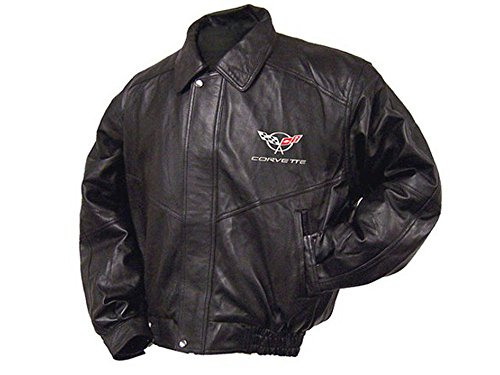 Corvette Leather Bomber Jackets - 6