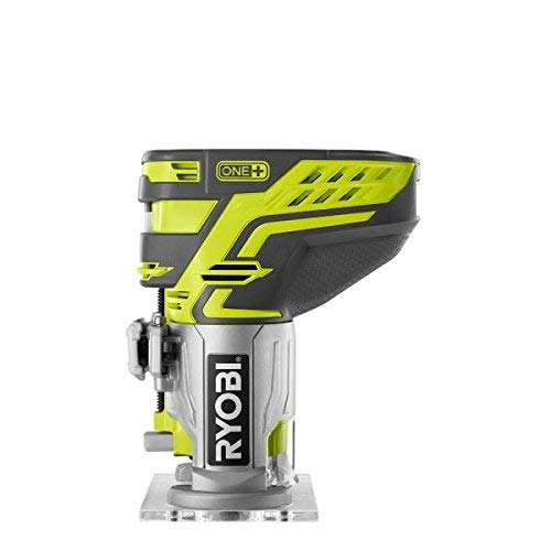 Ryobi P601 One+ 18V Lithium Ion Cordless Fixed Base Trim Router (Battery Not Included - Tool Only)