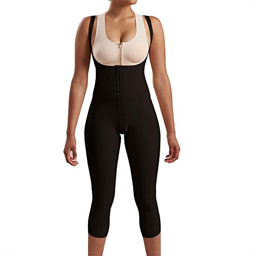 Marena Recovery Mid-Calf-Length Post Surgical Compression Girdle with High-Back