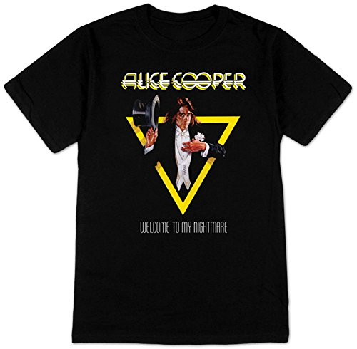 Alice Cooper- Welcome To My Nightmare T-Shirt Size XXL