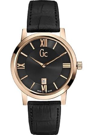 Guess Collection Hommes Montre Gc SlimClass Noir X60005G2S  Amazon ... a28d3c2a46d