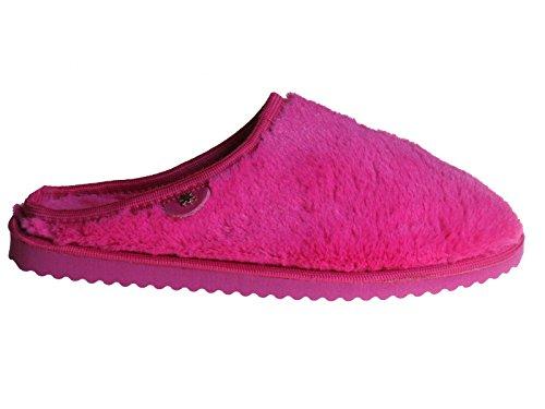 flip*flop 7492-22133-3, Chaussons Mules femme - 251°geranium