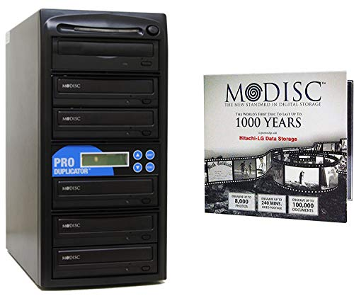 Produplicator 1 to 5 M-Disc Support CD DVD