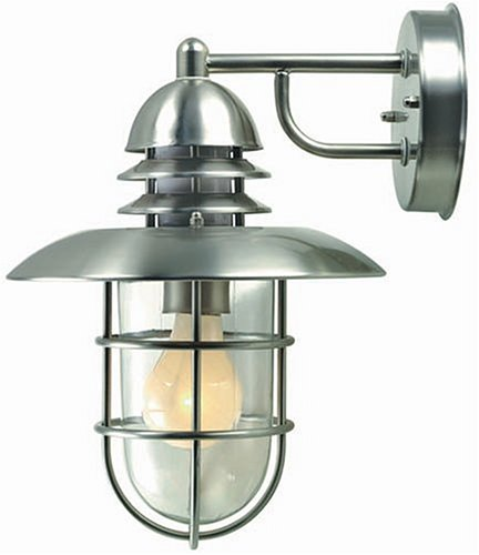 - Lite Source Lamppost Outdoor Wall Lamp